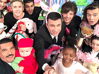 WATCH: One Direction and Jimmy Kimmel Take the Cutest Selfie Ever