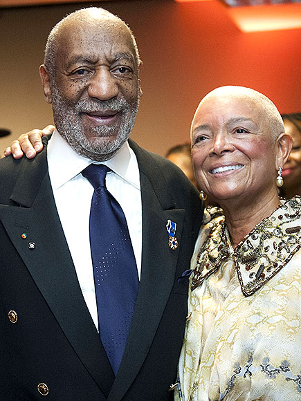 Camille Cosby Bald Head