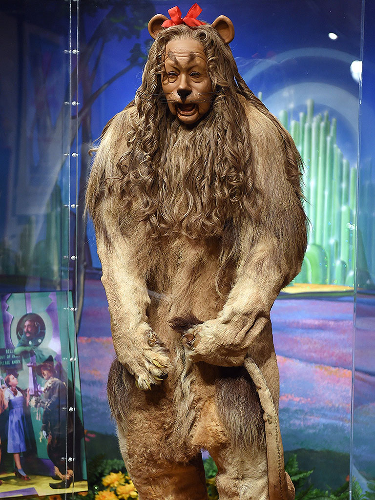 Real Cowardly Lion Costume
