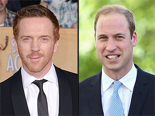 Homeland's Damian Lewis Receives Honor From Big Fan Prince William
