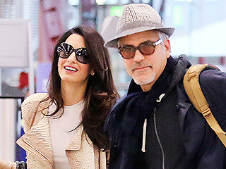 PHOTO: See Amal Clooney's Chic Airport Style on Thanksgiving