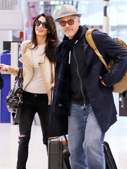 George Clooney S Rep Amal Clooney Is Not Pregnant