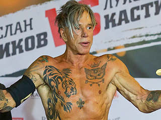 Mickey Rourke, 62, Defeats Boxer Half His Age in First Fight in 20 Years