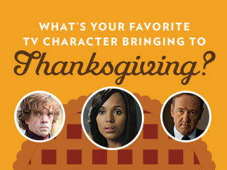 INFOGRAPHIC: What Would Your Favorite TV Character Bring to Thanksgiving?