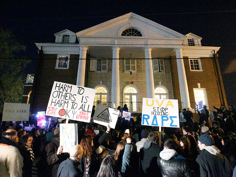 UVA Students Speak Out About Gang Rape Accusations