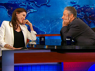 Watch Out, Brad Pitt! Jon Stewart Imagines His Life with Angelina Jolie