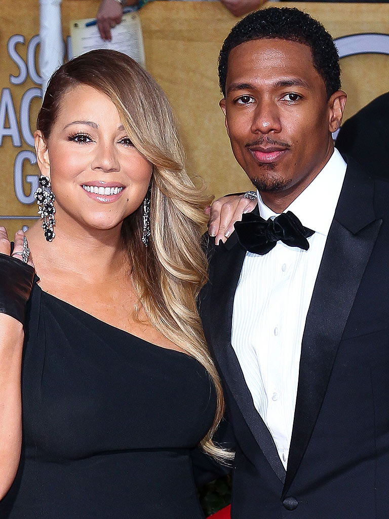 Nick Cannon Promotes Mariah's Album : People.com