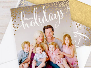 Tori Spelling: Why Dean Is in Our Holiday Card This Year