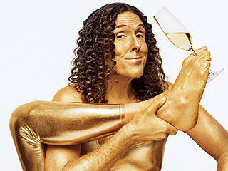 PHOTO: 'Weird Al' in a Gold Lamé Bodysuit (Need We Say More?)