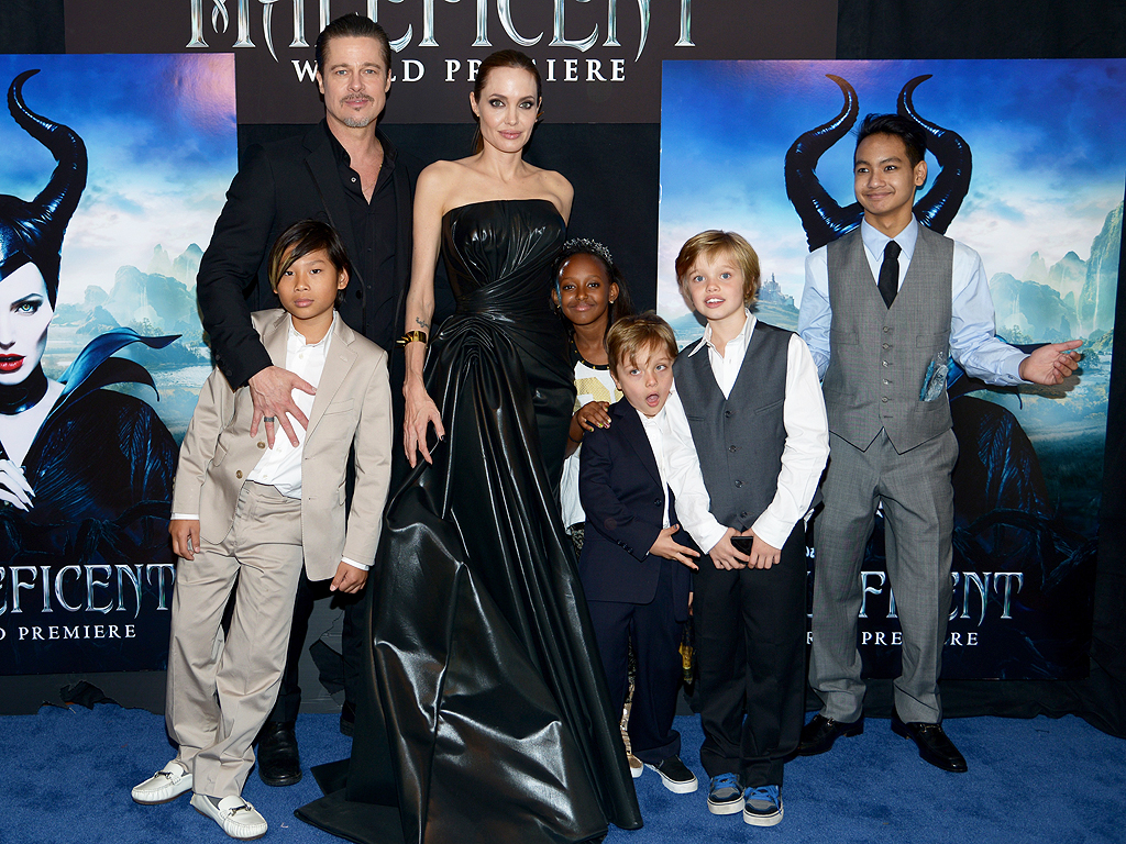 Angelina Jolie on Having More Kids, Expanding Family with ...  Angelina Jolie ...