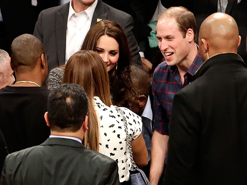 Prince William and Kate Meet Beyoncé and Jay Z at Hoops Game in Brooklyn| Beyonce, The British Royals, The Royals, Jay-Z, Kate Middleton, LeBron James, Prince William, Directors Class