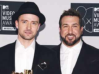 Joey Fatone Says Justin Timberlake's 'Going to Be a Great Dad'