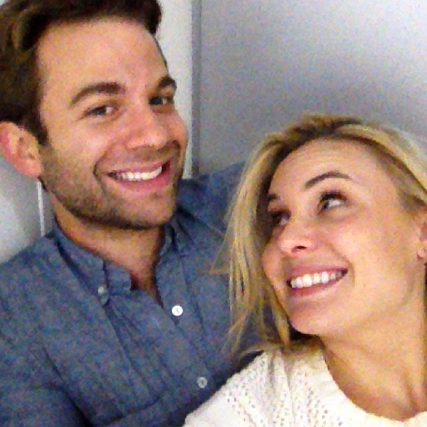 Leah Pipes with Husband A.J. Trauth