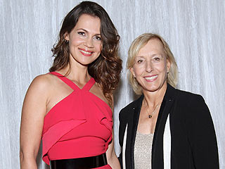 Martina Navratilova Is Married!