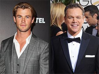Chris Hemsworth and Matt Damon's Bromance Will Make You Jealous