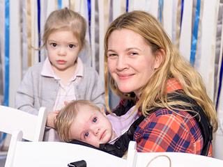 PHOTOS: Drew Barrymore Brings Her Daughters to Jessica Alba's Fundraiser