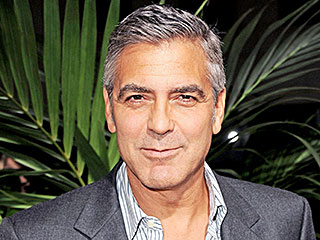 See George Clooney's Selfie on the Set of Downton Abbey
