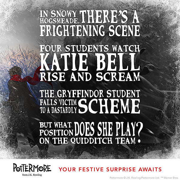 12 days of harry potter christmas katie bell finds the