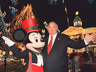 There's Nothing Mickey Mouse About This Guy's Holiday Lights Display