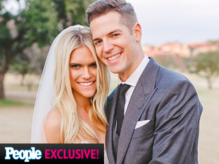 See Lauren Scruggs & Jason Kennedy's First Official Wedding Photo