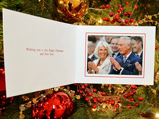 Prince Charles's Special Holiday Card Pays Tribute to His Son Harry