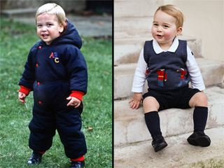 Little Princes: Compare William and George as Toddlers