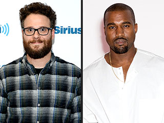 Seth Rogen: Kanye West Gave Me a Private Concert – in a Limo | Kanye West, Seth Rogan