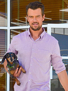 Josh Duhamel: Son Axl Is 'Fascinated' by Our Dog