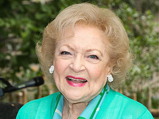 Betty White Reveals Valentine's Day Date with Her Golden Retriever | Animals & Pets, Valentine's Day, Betty White