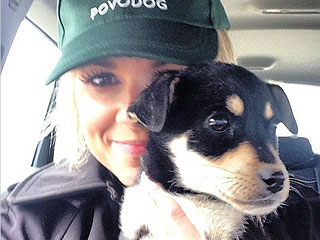 It's Puppy Love: Ali Fedotowsky Rescues Sochi Stray | Animals & Pets, Stars and Pets, Cute Pets, Pet News, Ali Fedotowsky