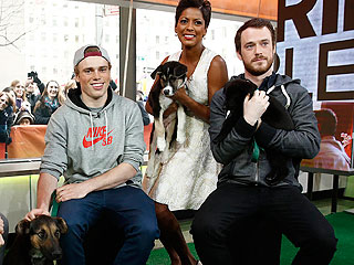 Olympian Gus Kenworthy Finally Brings Dogs from Sochi Home