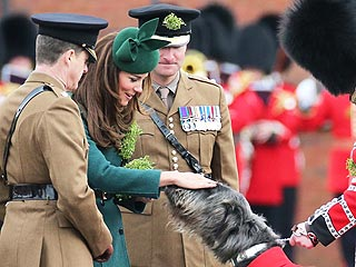 Luckiest Dog Ever Hangs with Kate on St. Patrick's Day | Kate Middleton