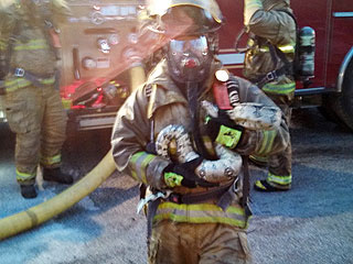 Firefighter Saves 7-Ft. Boa Constrictor from Burning House