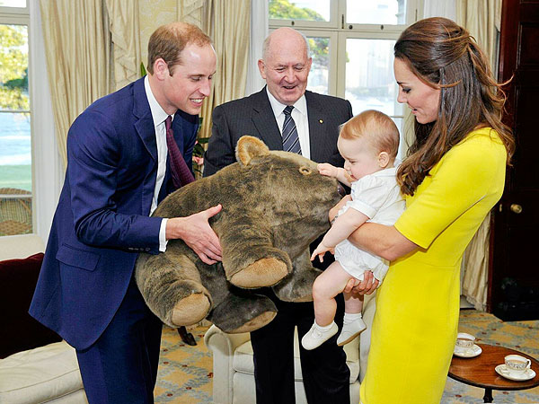 Prince George's Obsessions? Wombats, Sweet Potatoes & Bilbies| The British Royals, The Royals, Kate Middleton, Prince George, Prince William