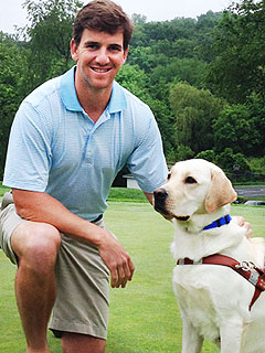 Why Eli Manning's Dog Is a Pool Shark | Eli Manning