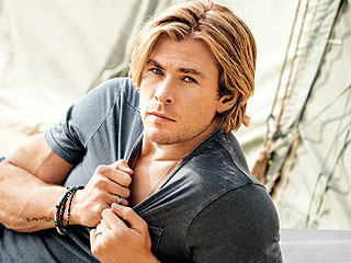 Bonus Pics: Chris Hemsworth Plays Cowboy & More from His Sexiest Man Alive Shoot!