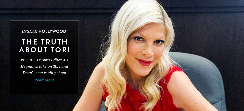 An Editor's Take: Tori Spelling's Life on Camera