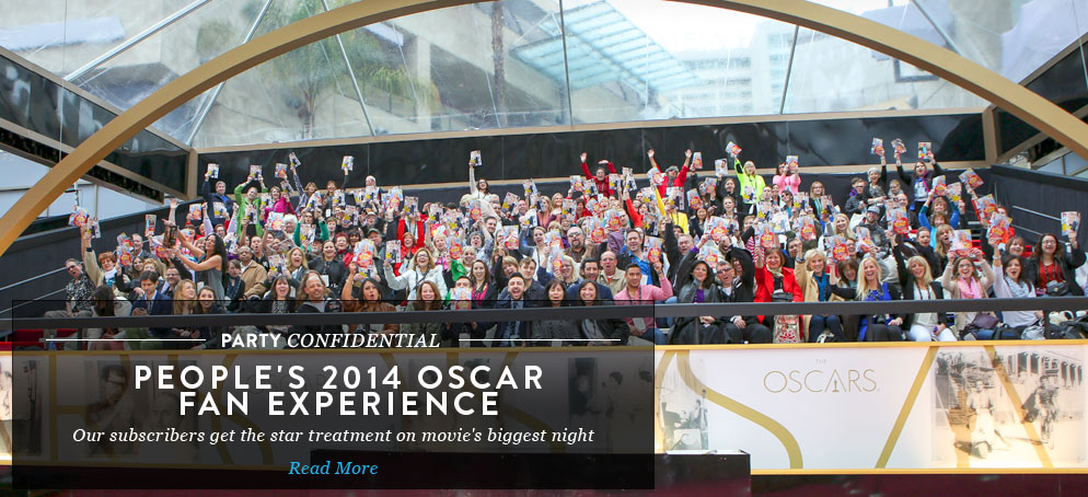 Behind the Scenes of PEOPLE's 2014 Oscar Fan Experience: How the Winners Celebrated Movie's Biggest Night