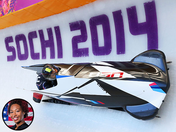 Bobsledder Jazmine Fenlator Gives Us an Athlete's-Eye View of Her 95 mph Run