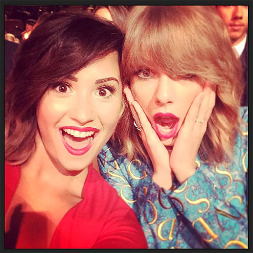 SHOCK & AWE photo | Demi Lovato, Taylor Swift