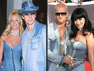 Britney Spears Responds to Katy Perry's Denim Dress Tribute to VMAs Past