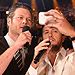 Blake Shelton & Luke Bryan Have an Epic Selfie Fail, Spoof Daft Punk