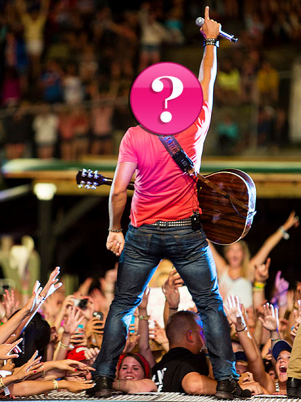Which star's backside has inspired multiple Twitter accounts? | Luke Bryan
