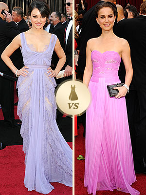 Mila Kunis Natalie Portman Oscars