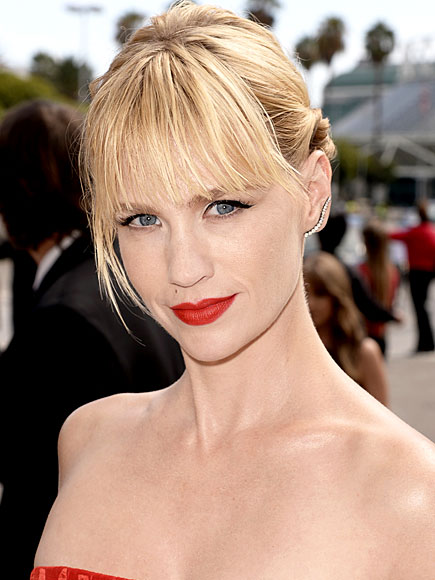 BEST RED LIP photo | January Jones