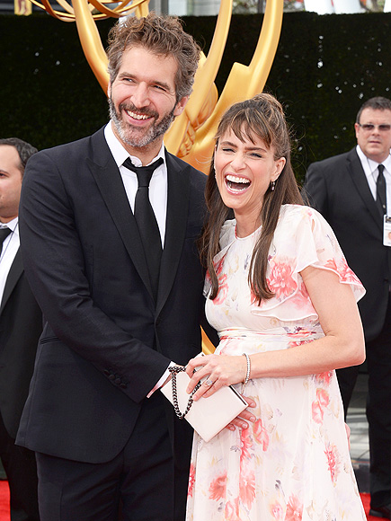AMANDA PEET & DAVID BENIOFF photo | Amanda Peet
