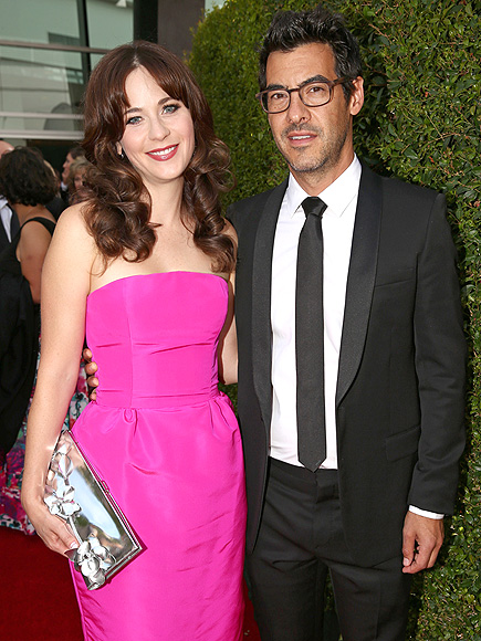 ZOOEY DESCHANEL & JACOB PECHENIK photo | Zooey Deschanel