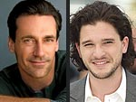 Jon Hamm, Kit Harrington