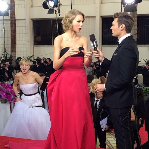 photo | Jennifer Lawrence, Ryan Seacrest, Taylor Swift