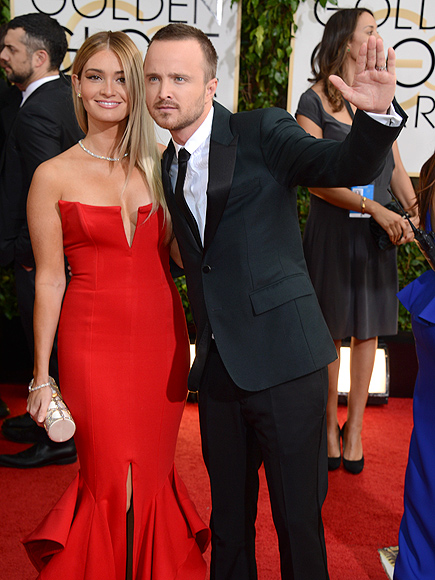 AARON & LAUREN photo | Aaron Paul